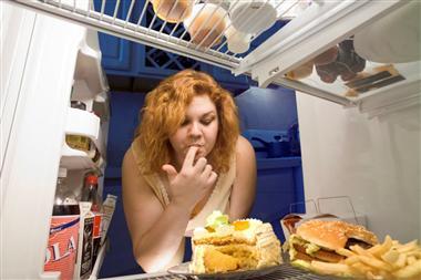 Mangiare dal frigo